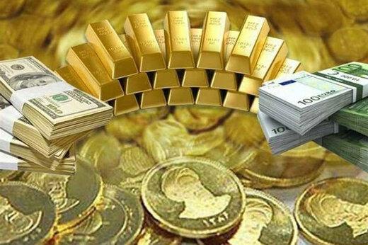 قیمت طلا، دلار، یورو، سکه و ارز امروز ۹۹.۰۸.۰۷
