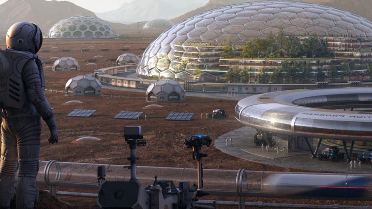 شبیه سازی چینی ها از سطح کره مریخ