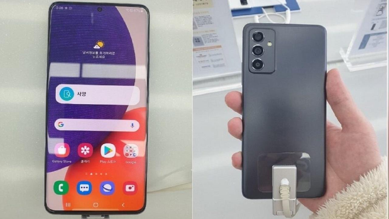 تصاویر Galaxy A82 5G هنگام باز کردن جعبه آن فاش شد