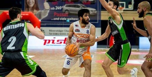 بسکتبالیست ایرانی بهترین بازیکن ماه لیگ دسته دو آلمان