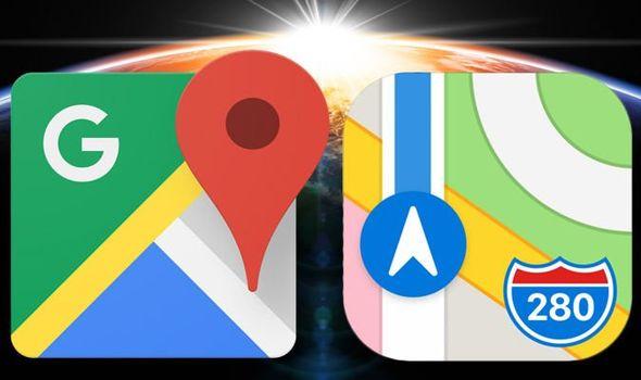 اپل و گوگل فلسطین را از روی نقشههای خود حذف کردند